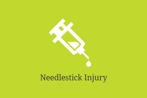 Needlestick injury compensation claims