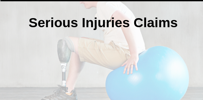 Serious Injuries Claims