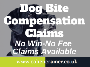 dog bite compensation claim
