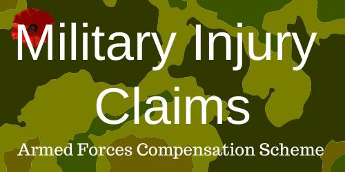 Injured on Military Training Exercise