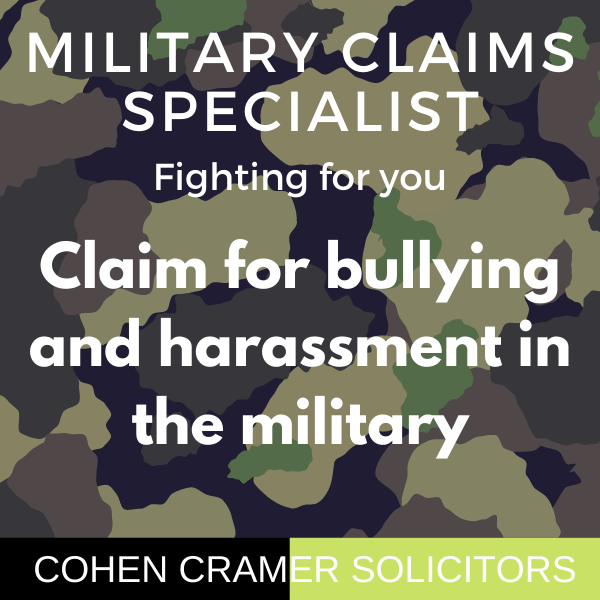 bullying and harassment in the military