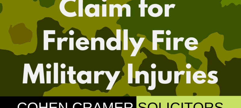 Injury from Friendly Fire Claim