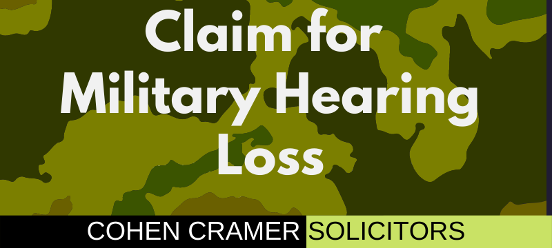 Claim for military hearing loss